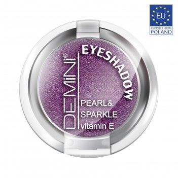 Тени для век demini pearl & sparkle eye shadow, тон 640 фиолетовый металли