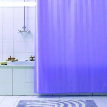 Штора для ванной rigone, 180х200 см, лиловый