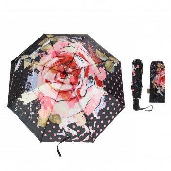 Зонт автоматический фотопринт, r=52см