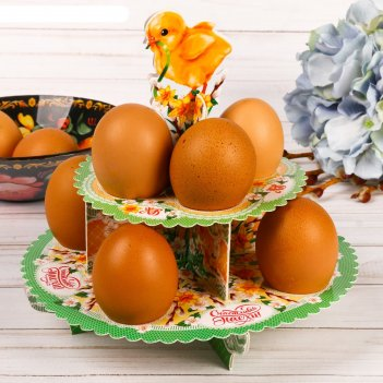 Пасхальная подставка для яиц «цыплёнок»
