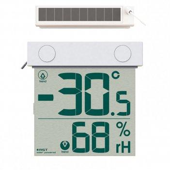 Цифровой термометр гигрометр с солнечной батареей rst01378