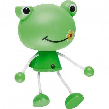 Ночник лягушка 0,5вт led цвет зелёный, датчик день, ночь