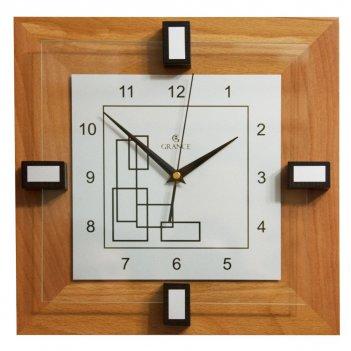 Настенные часы d-02  тик 310х310х40 мм