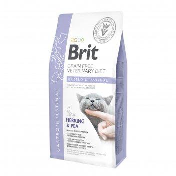 Сухой корм brit vdc gastrointestinal, для кошек, при струвитном мкб, 2 кг