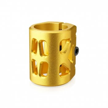 Хомут-b fox hic d 34.9, 3 bolt oversized gold