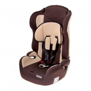 Детское автомобильное кресло zlatek atlantic гр.1-2-3 (коричневый)