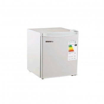 Холодильник bravo xr-50s, однокамерный, класс а+, 50 л, defrosf, серый