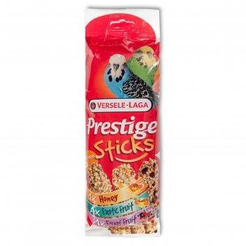 Палочки versele-laga prestige для волнистых попугаев, мед/фрукты/ягоды, 3х
