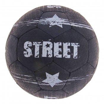 Мяч футбольный torres street №5, черно-белый