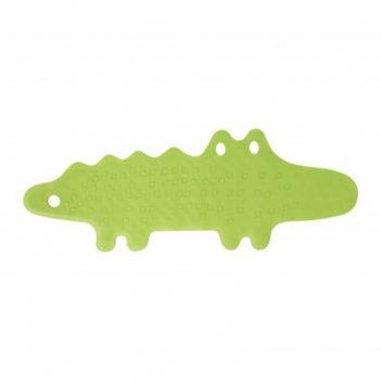Spa-коврик в ванну «патруль», крокодил, зелёный