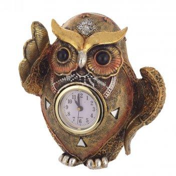 Часы сова, l14 w18.5 h14.5 см