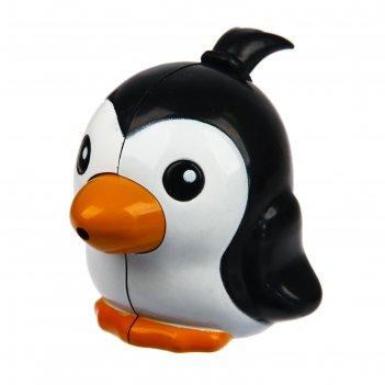 Книпсер маникюрный детский «пингвин» с колпачком и пилочкой, от 0 мес.
