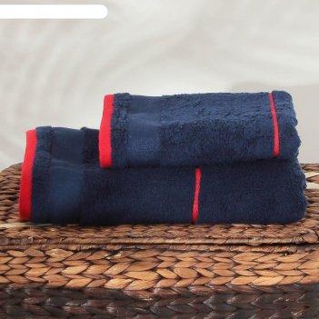 Полотенце махровое russian stripe пц-2602-2983 цв.10000, 50х90, хл.100%, 4