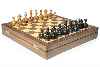 Шахматы woodgame орех, 44х44см