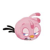 Шар фольга angry birds 25 розовая аг