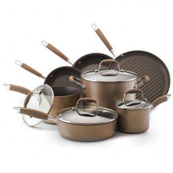 Набор кухонной посуды из 11 предметов anolon эдванс