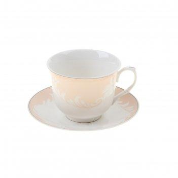 Сервиз чайный 12 предметов в подарочной коробке мадлен (чашка 220 мл)