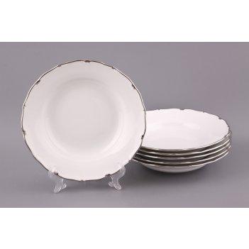 Набор суповых тарелок из 6 шт.симона диаметр=24 ...