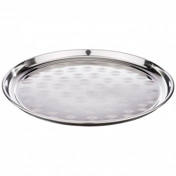 Поднос agness, круглый, 3d- дизайн, 40 см. овки