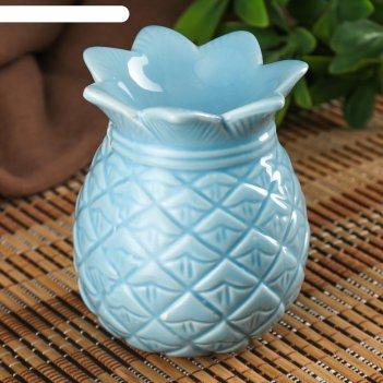 Аромалампа керамика ананас микс 10,5х9х9 см