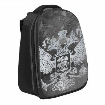 Рюкзак каркасный calligrata, 37 х 28 х 19, «герб серый»