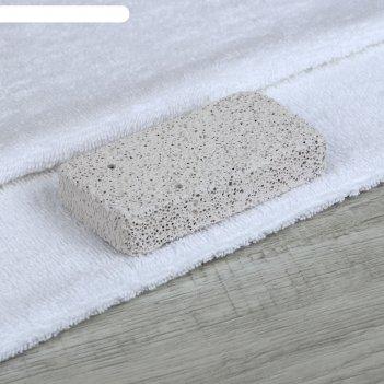 Пемза прямоуг10 *5(±0,5)см бел вак/уп