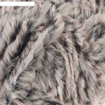 Пряжа фантазийная 100% микрофибра softy plush 100 гр 65 м чернобурка