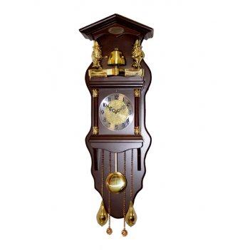 Настенные часы с боем sinix 7100brn