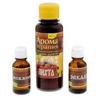 Набор 2 аромамасла и ароматизатор для бани седьмое небо