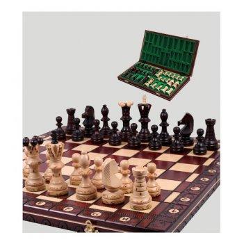 Шахматы деревянные manopoulos (греция) red chess 1