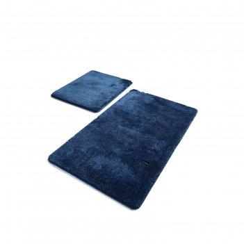 Комплект ковриков для ванной havai, 2 шт, 50х80 см и 40х50 см, акрил, цвет