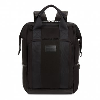 Рюкзак swissgear 16,5doctor bags, черный, полиэстер 900d/пвх, 29 x 17 x 41