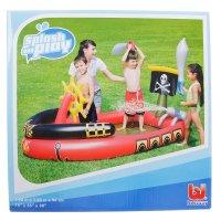 Игровой бассейн пираты, 190 х140 х96 см, 190 л +2 меча, водяная пушка, ш