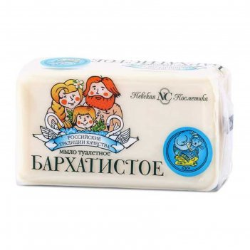 Мыло туалетное невская косметика «бархатистое», 140 г