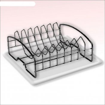 Сушилка для посуды c поддоном
