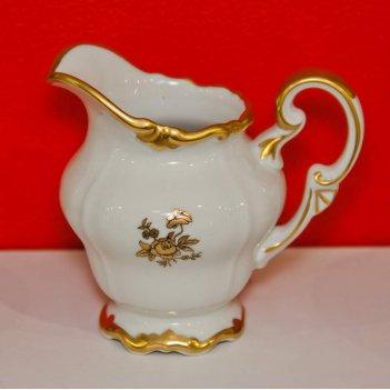 Молочник 250мл.роза золотая