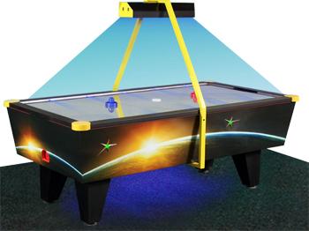 Аэрохоккей с жетоноприемником neon восьмифутовый