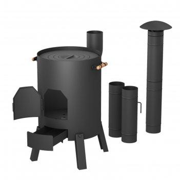 Печь казанок  370 мм, для казанов 8-12 литров, 3 мм