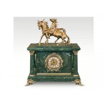 Часы-сейф из мраморалошади(арт.с-029)