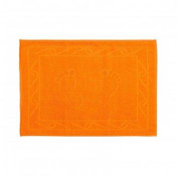 Полотенце для ног hayal, размер 50 x 70, оранжевый