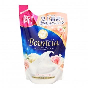 Сливочное жидкое мыло для рук и тела, bouncia, с ароматом роскошного букет