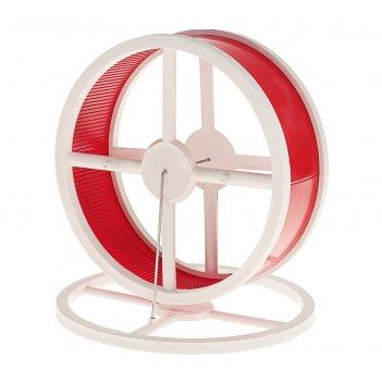 Колесо для грызунов беговое на подставке, диаметр колеса 14 см, микс цвето