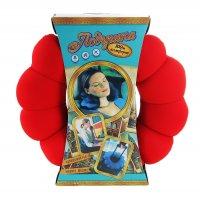 Мягкая игрушка - антистресс подголовник круг красный