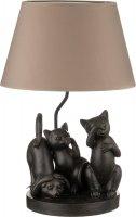 Светильник с абажуром кошки e27 40w 35*35 см. вы...