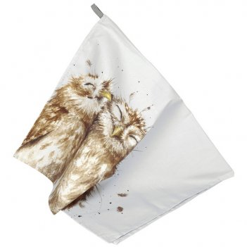 Полотенце pimpernel сова 74х45см