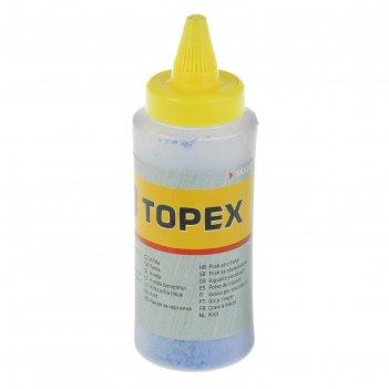 Порошок красящий topex для малярных шнуров, 115 г, синий