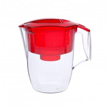 Фильтр-кувшин 3,9 л аквафор-гарри, цвет красный