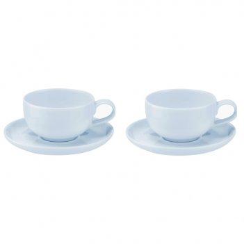 Набор чашек чайных с блюдцем portmeirion выбор портмейрион 100мл, 2 шт (го