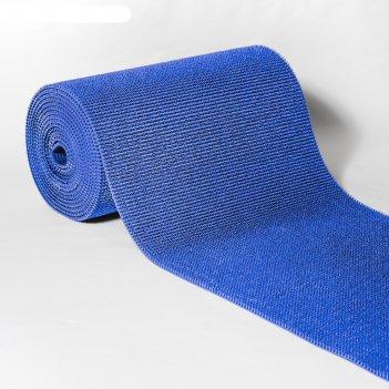 Покрытие ковровое щетинистое травка 0,9 х 15 м, рулон, синий