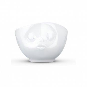 Салатник индивидуальный, объем: 500 мл, материал: фарфор, цвет: белый, сер